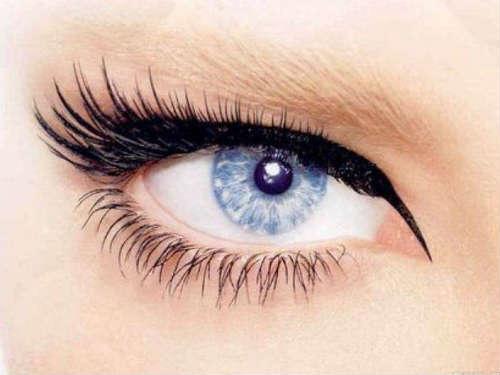 Ice blue eyes makeup ideas