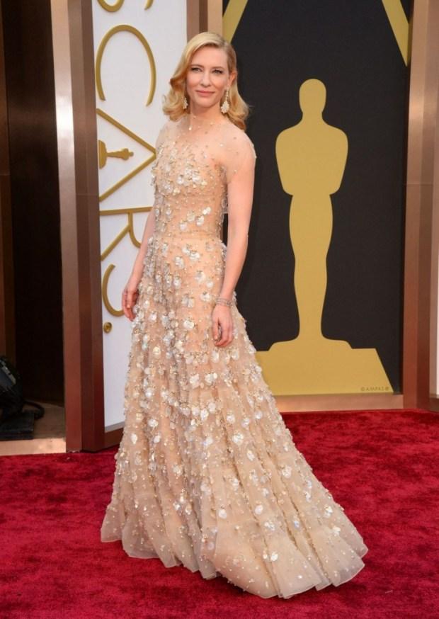 Cate Blanchett in Armani Prive dress, 2015