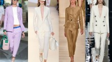 Spring-Summer 2015 women's suits trends