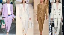 Spring-Summer 2015 women's suits trends