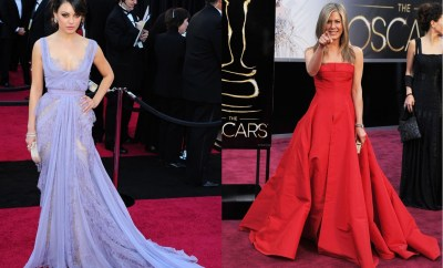 Top 20 dresses from the Oscar ceremony
