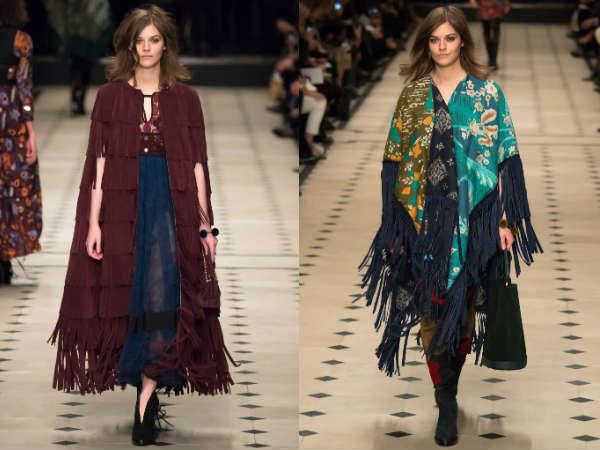 Collection Burberry Prorsum London Fashion Week Winter 2017
