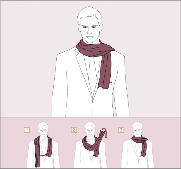 How to wear Artistic tie