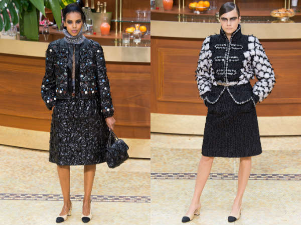 Chanel Collection at Paris Fashion Week