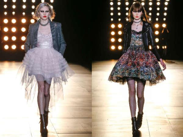 YSL Paris Fashion Week