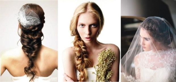 Wedding hairstyles with braids 2016