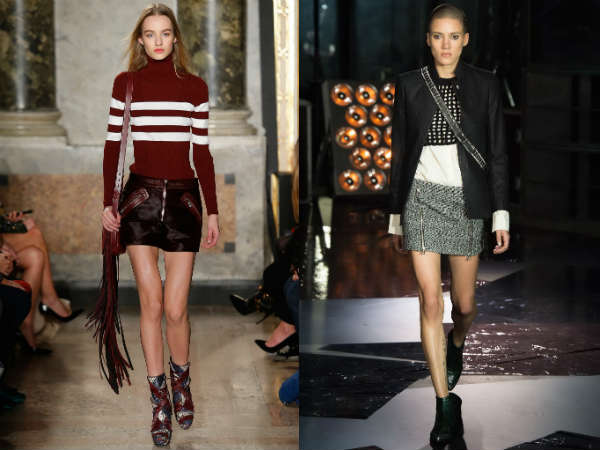 Short skirts 2016 fall 2017 winter