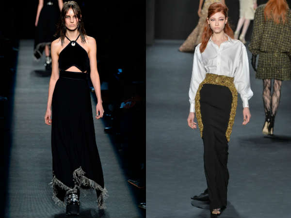 Fall Winter 2016 2017 Maxi Skirt