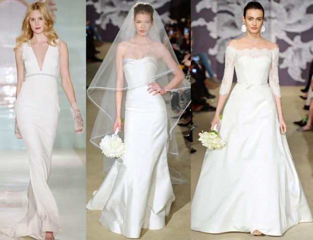Simple wedding dresses 2016