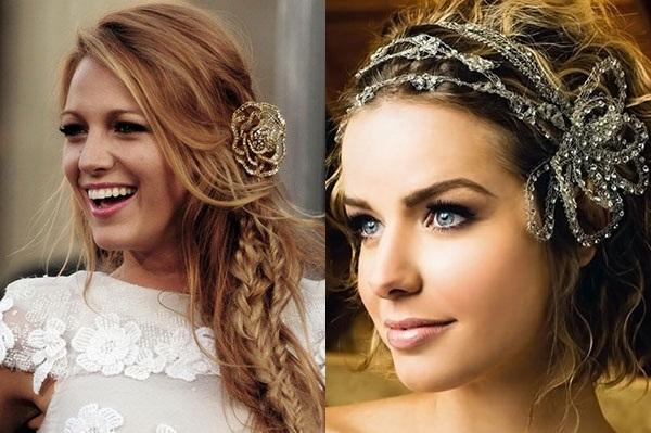Creative weeding hairstyles