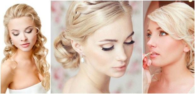 2015 Wedding eye makeup for blondes