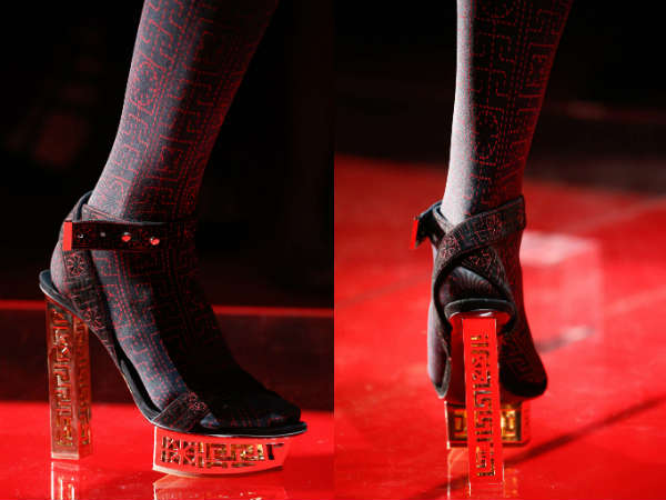 Versace heeled and platforms