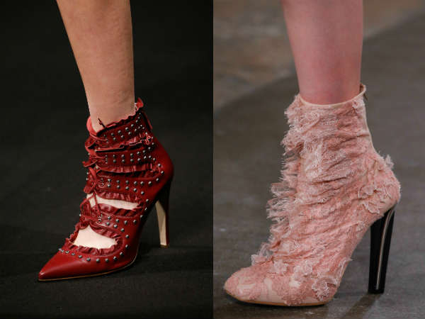 lace with heel