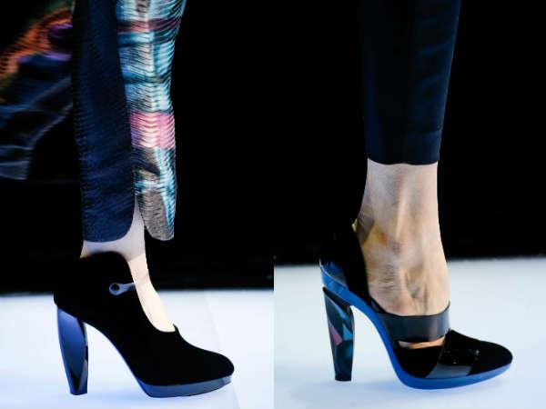 Giorgio Armani women high heeled shoes