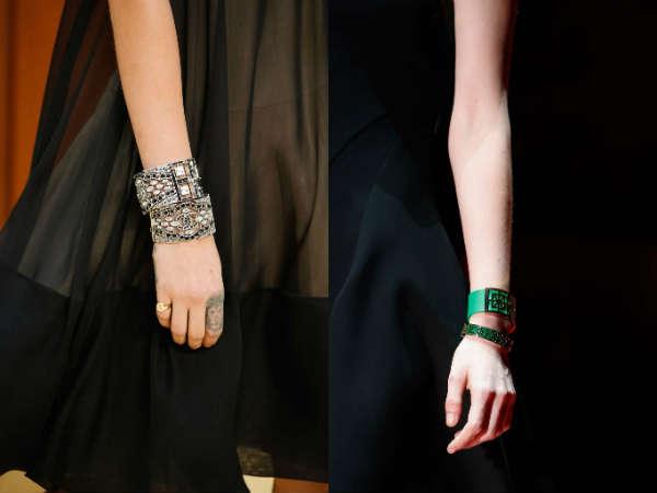 Double jewelry bracelets