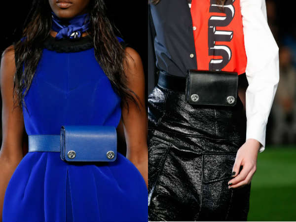 leather waist