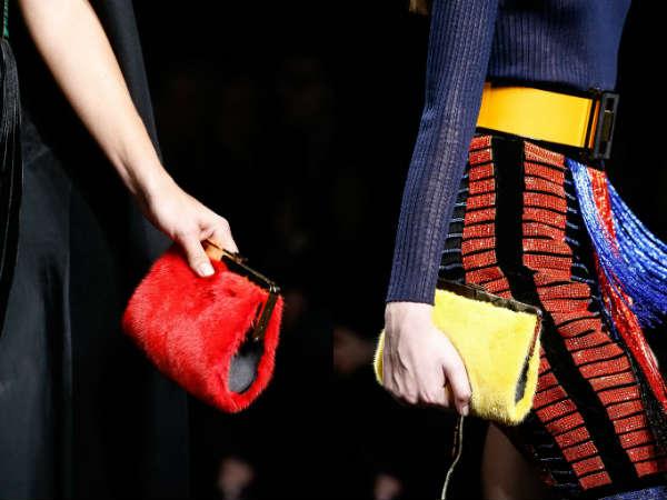 Best designers fur clutch