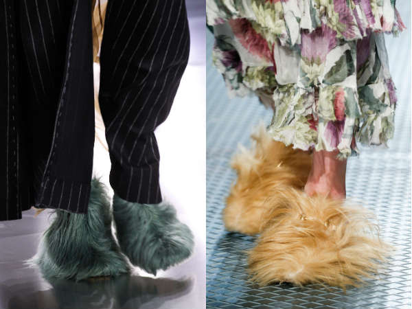 Women shoes Fall-Winter 2016 2017 material