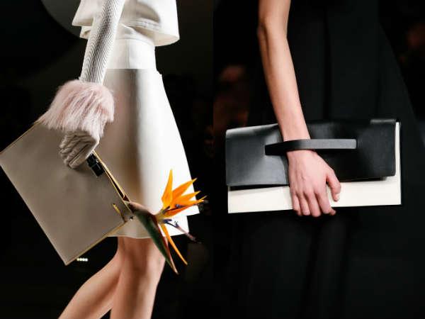 Trendy popular envelope bag
