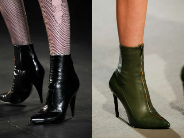 High heeled ankle boots for women Fall-Winter 2016 2017