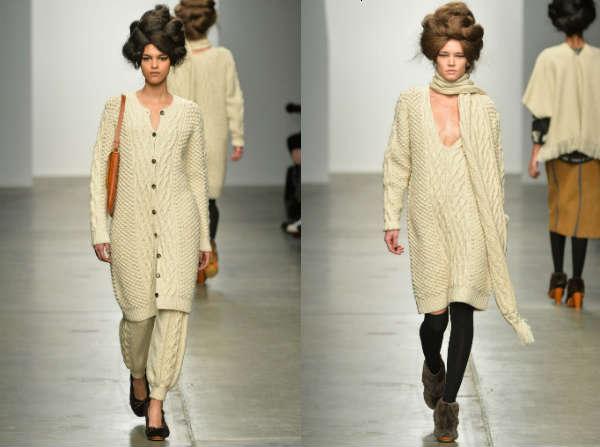 stylish knitted