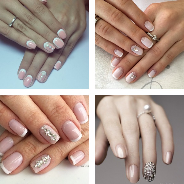 Wedding nail drawings