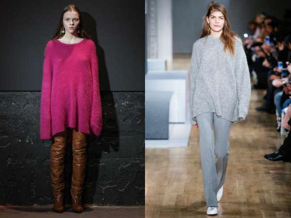 Oversize sweaters for women Fall-Winter 2016 2017