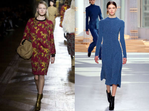 Office dresses Fall-Winter 2016 2017 colors
