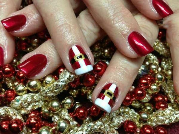 festive gel designs