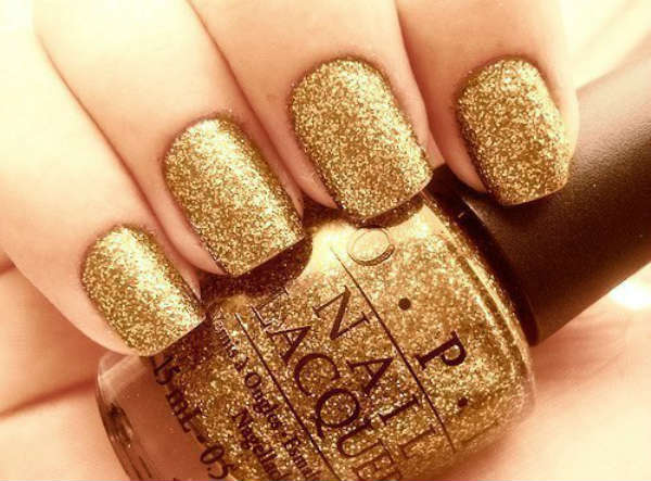 gold glittering