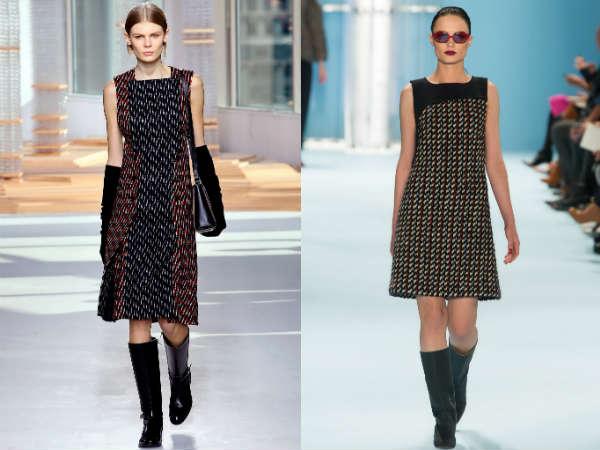 Office dresses Fall-Winter 2016 2017 fabrics