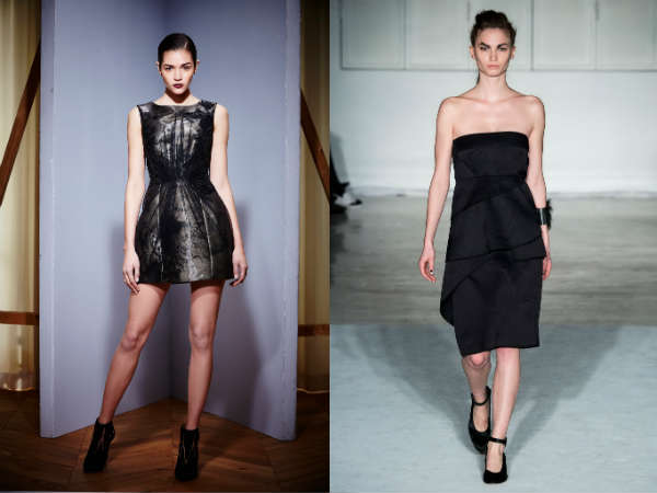 Fall black best cocktail dresses