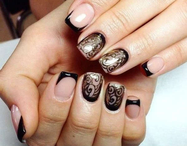 What manicure is in style in Winter 2017