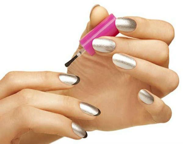 metallic nail polish color ideas
