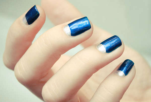 short blue shades