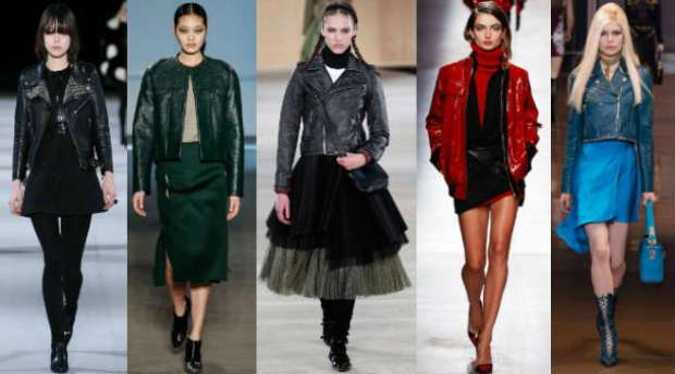 Style tips how to wear a leather jacket