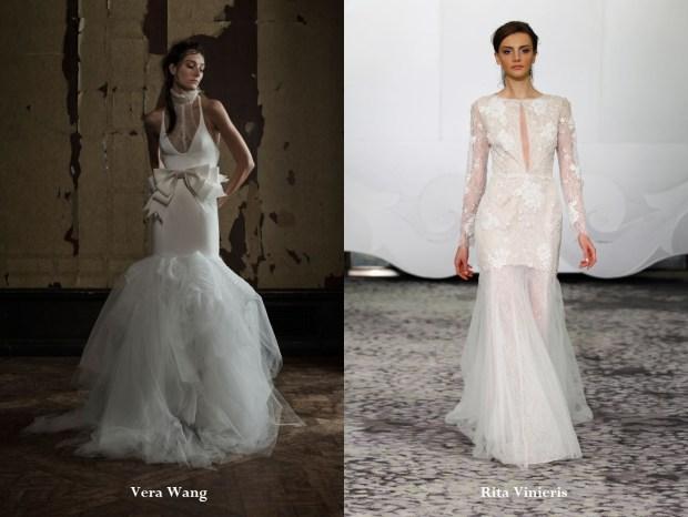 Wedding dresses 2017 neckline