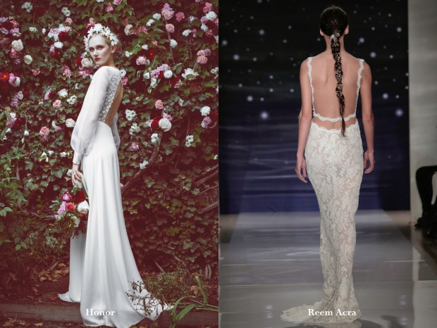 Backless wedding dresses 2017