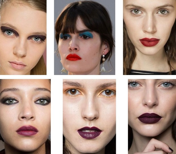Lip makeup fall 2016 winter 2017