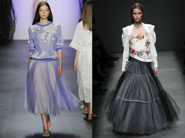 Trendy midi skirts for Spring-Summer 2017 season