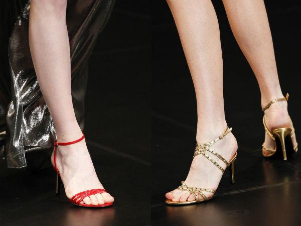 small thin heel