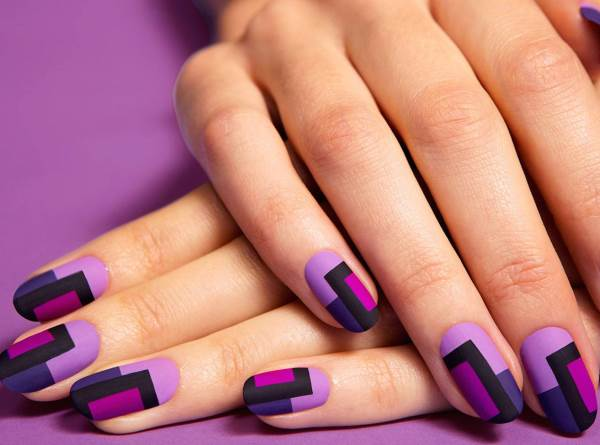 Manicure designs with drawings