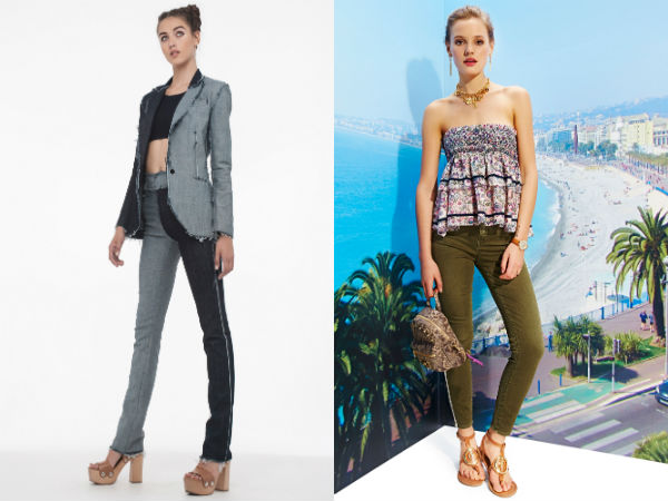 Trendy skinny jeans 2017 spring-summer