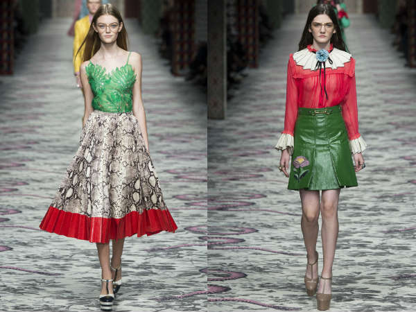 Gucci at Milan Fashion Week