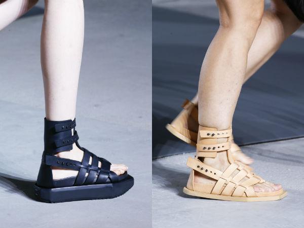 Gladiator sandals 2017
