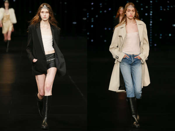 Saint Laurent at Paris Fashion Week spring summer 2017