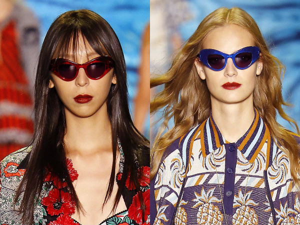 Butterfly sunglasses designs spring-summer 2017