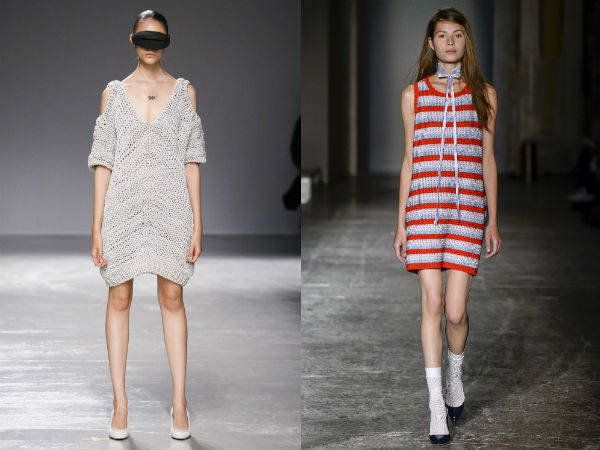 Trendy tunics spring-summer 2017: fabrics