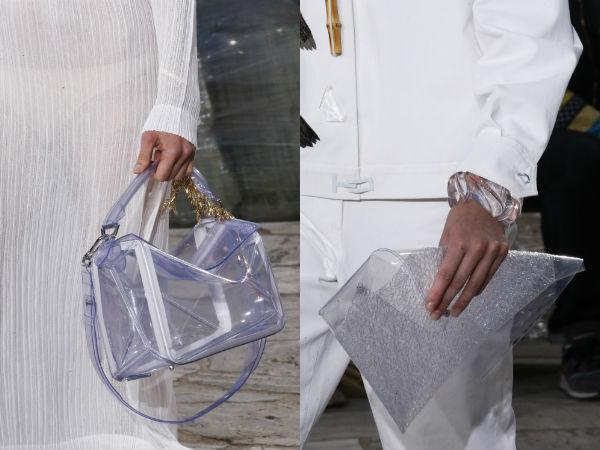 Transparent handbags spring summer 2017