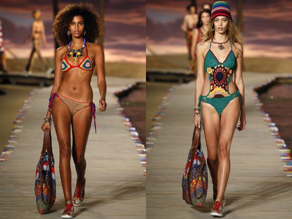 Swimsuits spring summer 2017: fabric
